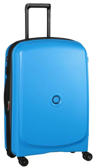 valise rigide delsey paris belmont plus bleu metallique