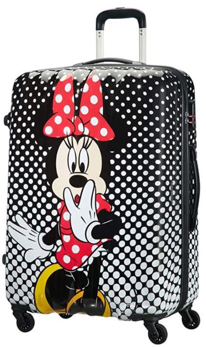 valise rigide pour enfant American tourister Disney Minnie