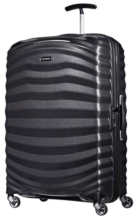 valise rigide samsonite Lite shock noir