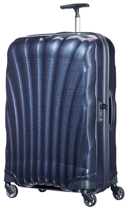 valise rigide samsonite cosmolite bleu