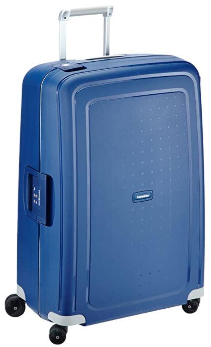 valise samsonite Scure Spinner bleu