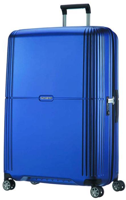 valise samsonite orfeo spinner bleu