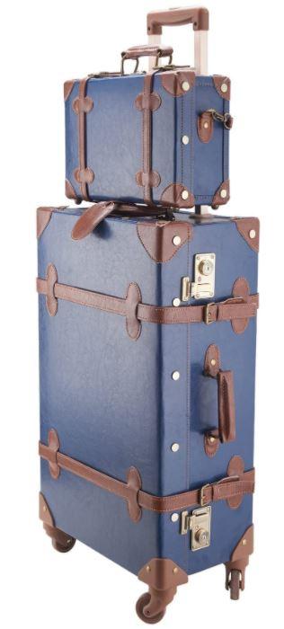 valise vintage a roulette Z Zelus