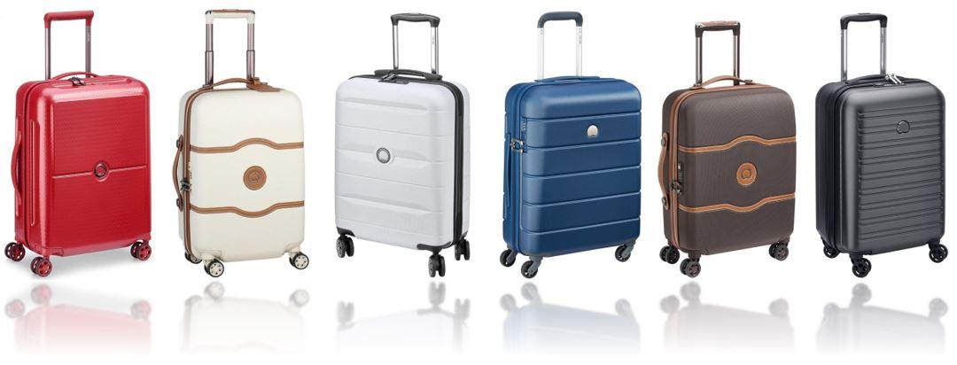 valises cabine Delsey paris comparatif