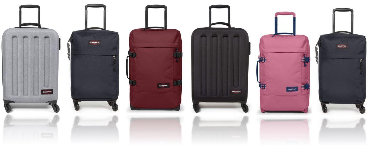 valises cabine Eastpak comparatif