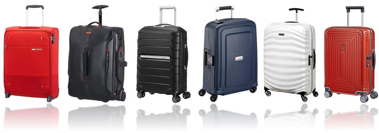 valises cabines Samsonite comparatif