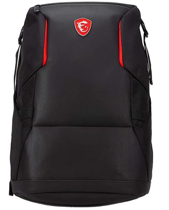 MSI Urban Raider noir et rouge sac a dos de transport dordinateur portable de 17 pouces et moins