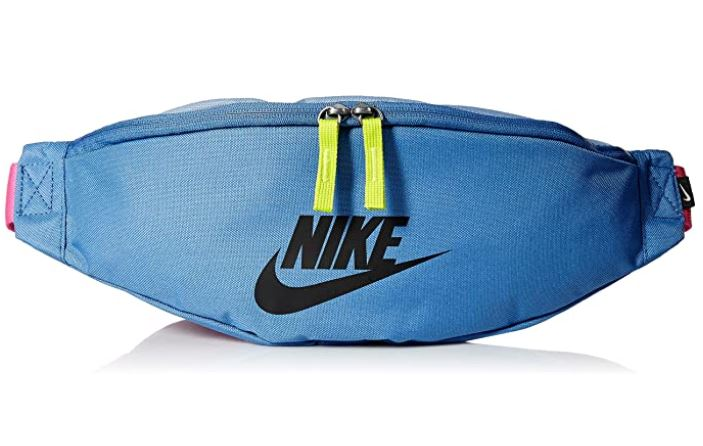 Nike Heritage Hip Pack sac banane mixte bleu rose et jaune avec sangle reglable