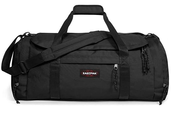 Sac de voyage masculin Eastpak Reader M noir fait de polyester tres resistant