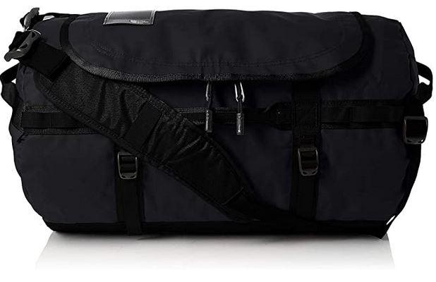 The North Face Base Camp S de couleur noir un sac de weekend robuste et impermeable pour homme
