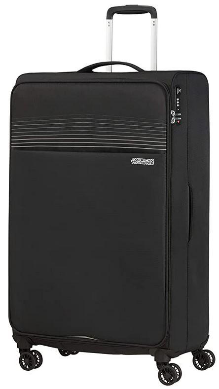 bagage American Tourister souple modele Lite ray de couleur noir 81 cm et 105 L max