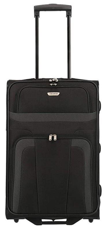 bagage Travelite Orlando souple avec roulettes et compartiment interieur pour chaussures capacite de 62 litres