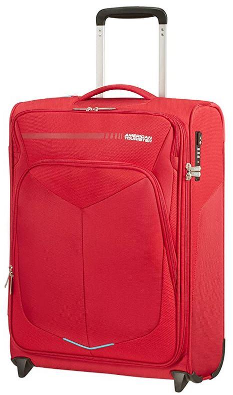 bagage cabine souple American Tourister rouge modele Summerfunk