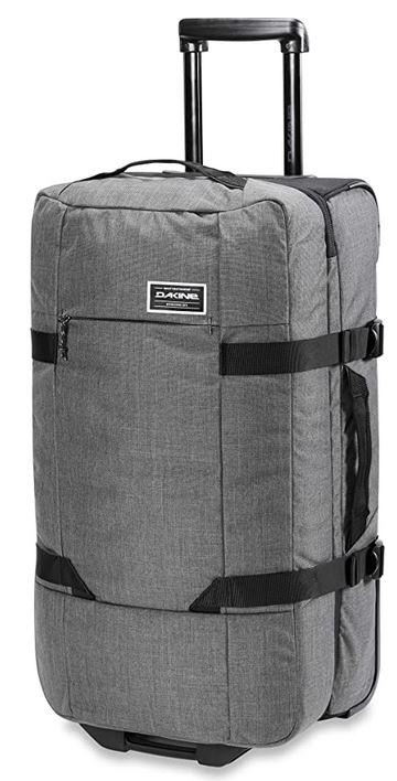 bagage souple de la marque Dakine modele Split roller EQ gris au design unisexe avec capacite max de 75 litres