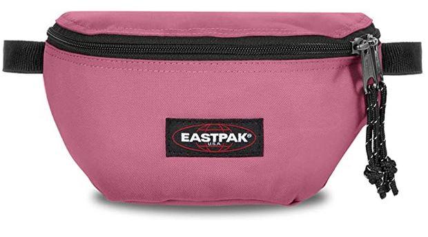 banane feminine de couleur rose Eastpak Springer a la capacite de 2 litres