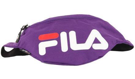 banane violette avec grande poche centrale de la marque Fila