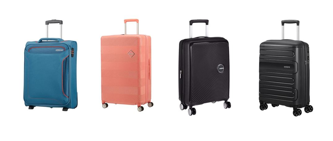 comparatif bagages cabines American Tourister