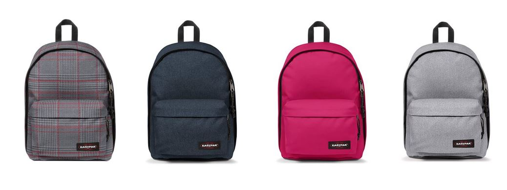 comparatif sacs a dos Eastpak out of office