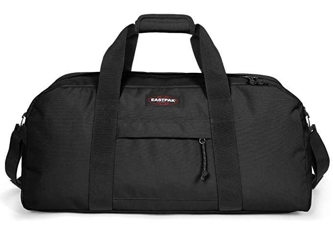 eastpak station noir sac pour partir en week end pour homme avec une capacite de 58 litres