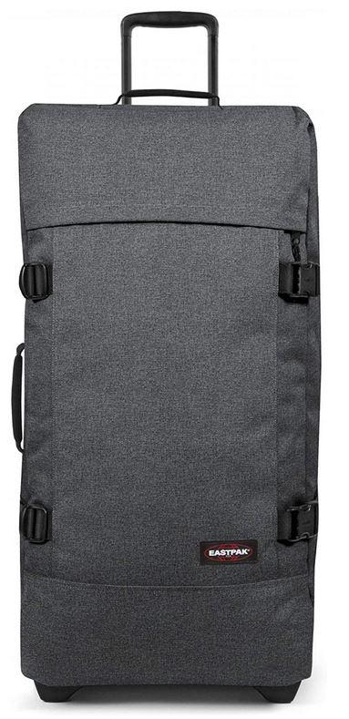 eastpak tranverz taille L 121 litres maximum bagage souple de couleur grise modele black denim
