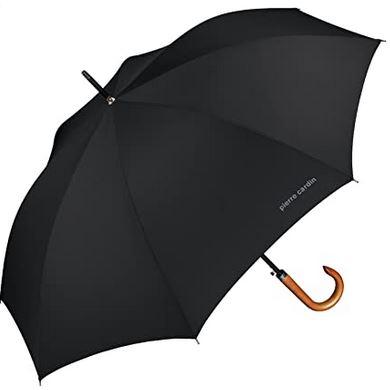parapluie canne pour homme noir de la marque Pierre Cardin