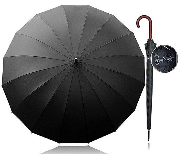 parapluie masculin Royal Walk pour 2 personnes avec une longueur de 120cm
