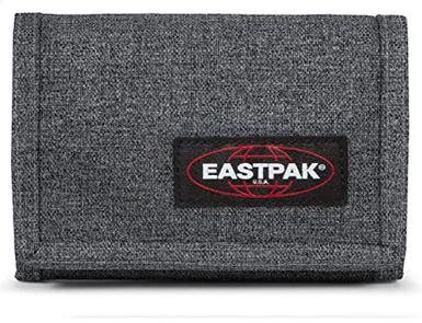 portefeuille masculin Eastpak Crew Single gris et noir modele black denim