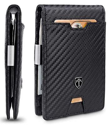 portefeuille masculin type portecarte anti RFID de la marque Travando
