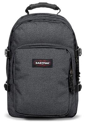 sac a dos Eastpak provider gris modele Black denim capacite de 33 litres avec compartiment pour ordinateur portable