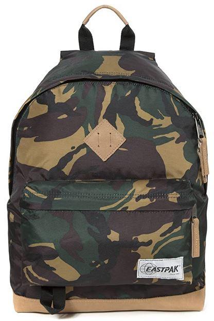 sac a dos de la marque Eastpak modele Wyoming design militaire camouflage