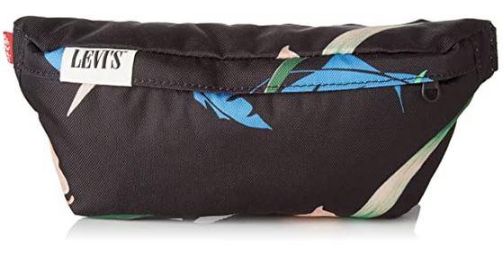 sac banane pour femme Levis Sling Floral avec des motifs en forme de feuille de couleur