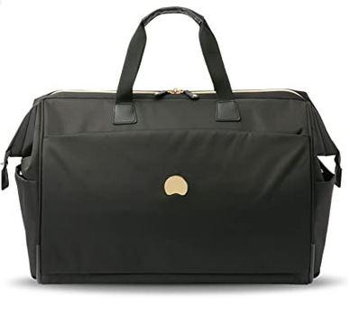 sac de voyage destine aux femmes de la marque Delsey Paris modele Montrouge noir
