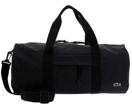 sac de voyage pour homme noir de marque Lacoste