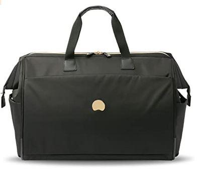 sac pour femme Delsey Paris modele Montrouge noir avec capacite de 49 litres ideal pour partir en week end