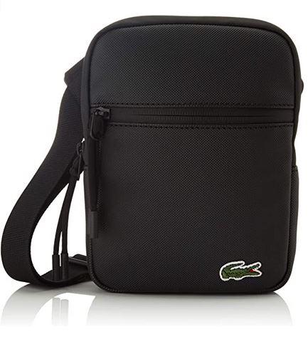 sacoche noir pour homme de la marque Lacoste modele NH3307