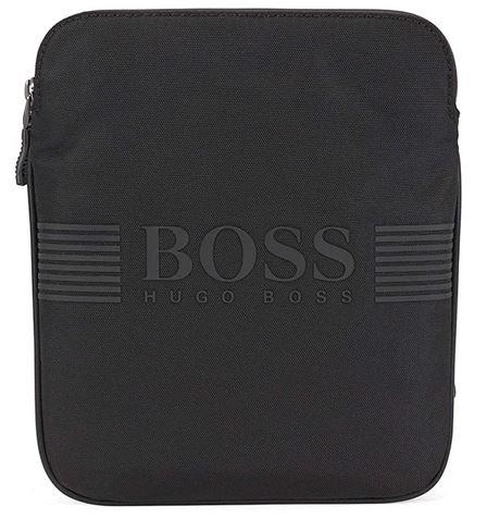 sacoche pour homme de couleur noir de la marque Hugo Boss