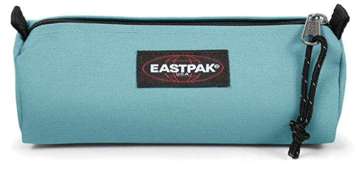 trousse decole pour fille de la marque Eastpak modele Benchmark Single bleu clair