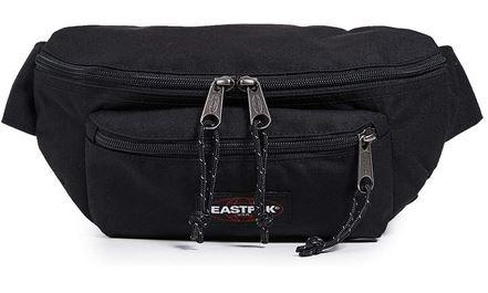 banane Eastpak Doggy bag noir modele unisex plutot destine aux hommes avec une capacite totale de 3 litres