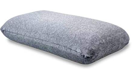 oreiller de voyage gris a memoire de forme de la marque Cabin Max