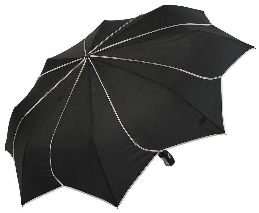 parapluie automatique pour femme Pierre Cardin Sunflower blanc et noir