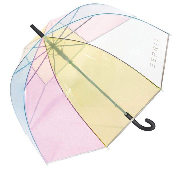parapluie cloche transparent multicolore pour femme de la marque Esprit
