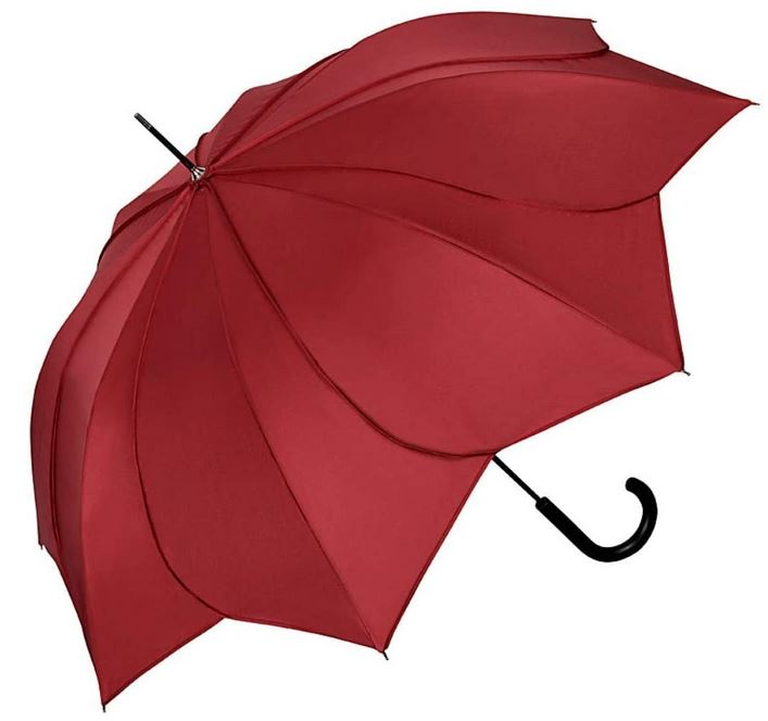 parapluie femme Von Lilienfeld de couleur bordeaux