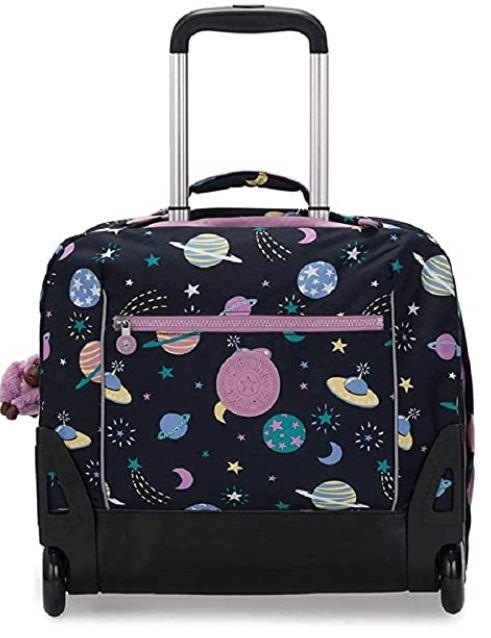 sac a roulette pour enfant Kipling Giorni avec des motifs astronomiques